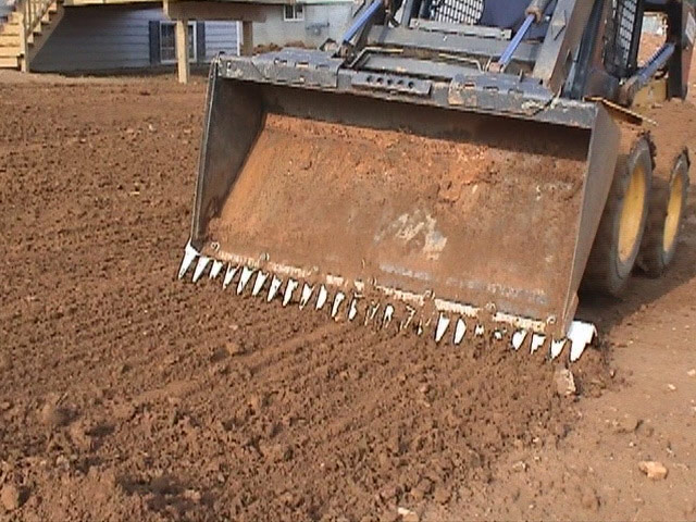 ratchet rake llc tractor attachment bucket attachment loader