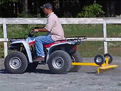 ATV Rake Video
