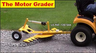 Ratchet Rake, LLC - All Terrain Rake, Snow Edge, Tractor attachment