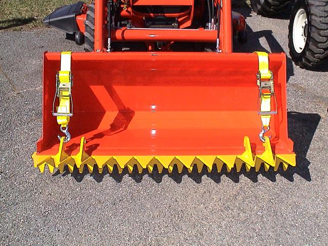 Tractor Loader Teeth : Ratchet rake ebay